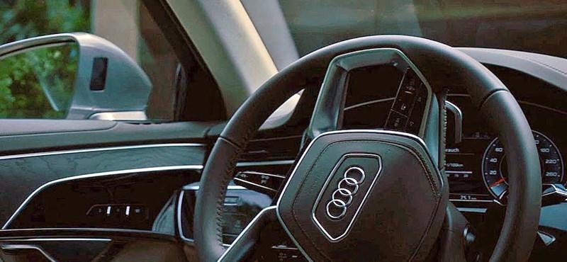 Itt az új Audi A8 – most mutatják be élőben