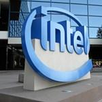 Rekordbevételről és -profitról számolt be az Intel