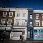 Íme, most eladó London legkeskenyebb háza