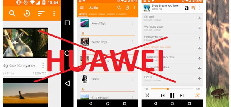 Huawei telefonja van? Akkor önnél blokkolták a legnépszerűbb videólejátszót