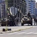 Tüntető munkások bénítják meg a közlekedést Szerbiában