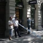 Brutálisan kiraboltak egy luxusbutikot az Andrássy úton