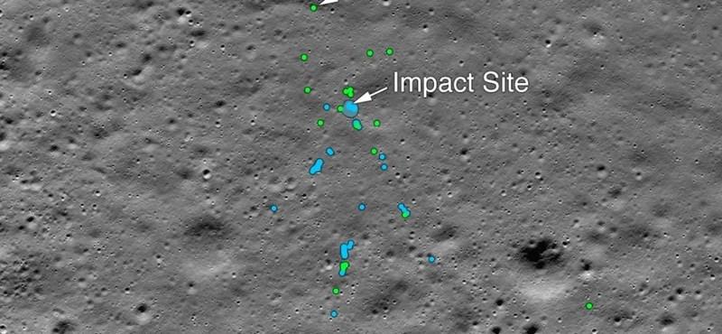 Megvan, hol zuhant le a Holdon az indiai holdjáró