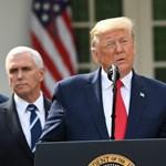 Donald Trump országos szükségállapotot hirdetett ki