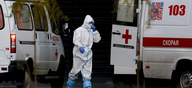 Kilőttek a fertőzésszámok Oroszországban