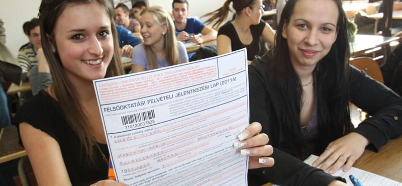 Elstartolt a 2012-es felvételi: dátumok, amelyekre figyelni kell