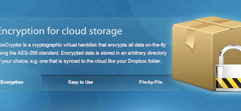Titkosítsuk felhőben tárolt adatainkat!