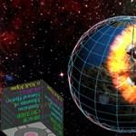 A nagy képernyők rajongóinak -űrhajós játék a planetáriumban