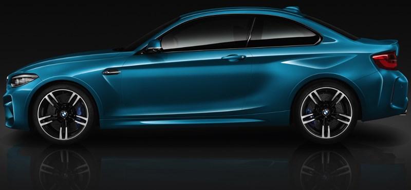 Hivatalos: itt az új BMW M2, mutatjuk a gyári képeket