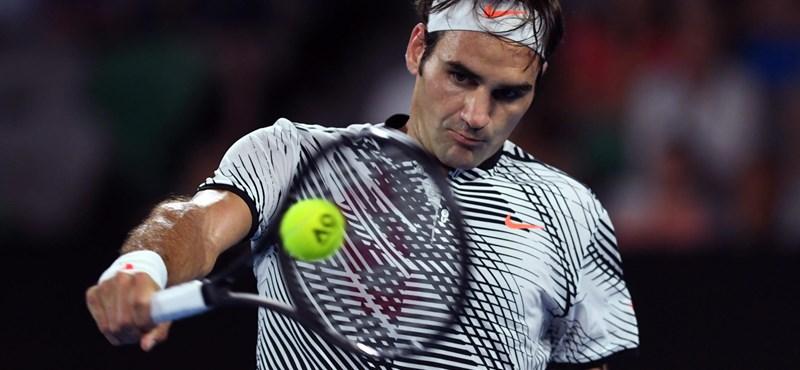 Megkérdezték Federert, mit szól ahhoz, hogy Fucsoviccsal fog játszani – videó