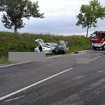 Fotó jött a 6-os úton történt halálos balesetről