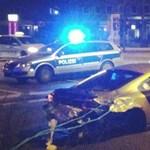 Ellopták és lezúzták az aranyozott Audi R8-ast - fotók