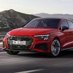 Kémfotókon az akár 450 lóerős új Audi RS3