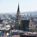Névtelen adakozó jótékonykodik Kolozsvár utcáin
