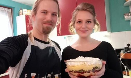 Elkészítettük a világ leggusztustalanabb ételét, Rachel lábízű desszertjét a Jóbarátokból – videó
