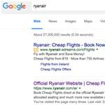 Kiakadt a Ryanair a Google-ra a screenscraper oldalak miatt