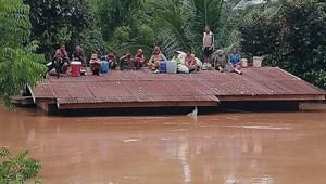 El tudja képzelni, mekkora pusztításra képes ötmilliárd köbméter víz? Laoszban most ez történt - fotók