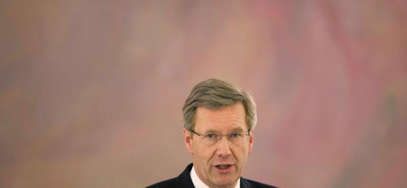 Lemond ma a német államfő?