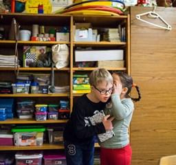 Bizalom és nyitottság –  Down-szindrómás gyerekek osztályközösségben