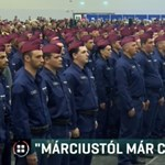 """""""Márciustól civil leszek"""" – fizetési értesítőjükkel üzennek a rendőrök"""