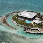 Nagy a baj! Kicsi a luxus sziget helikopter leszállója