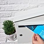 Tippek: növénylocsoló zöld postaláda