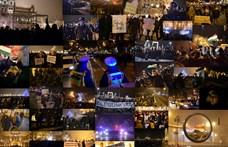 Rég nem látott düh Budapest utcáin - Nagyítás a hvg.hu fotóiból