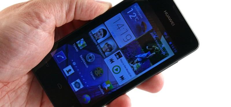 Huawei Ascend Y300: van ennél jobb androidos ajánlat?