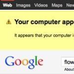 Vírusokra figyelmeztet a Google találati lista