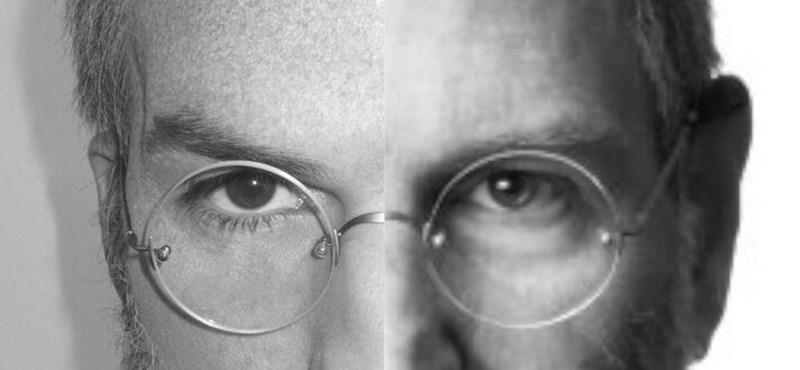 Fotó: meglepő hasonlóság Kutcher és Jobs között