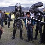 Fotó: Peruban a földönkívüliek fenyegetnek egy gyereket