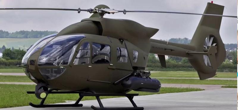 Négy Airbus harci helikoptert már idén megkap a honvédség
