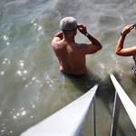Megint elhalasztják a Balaton-átúszást