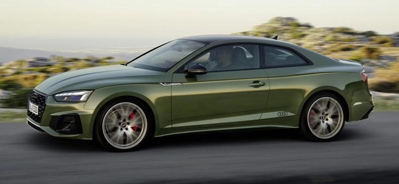 Megjött az elegáns Audi A5 faceliftje