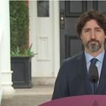Politikus talán még sosem gondolkodott olyan hosszan válaszon, mint Trudeau a Trumpról szólón