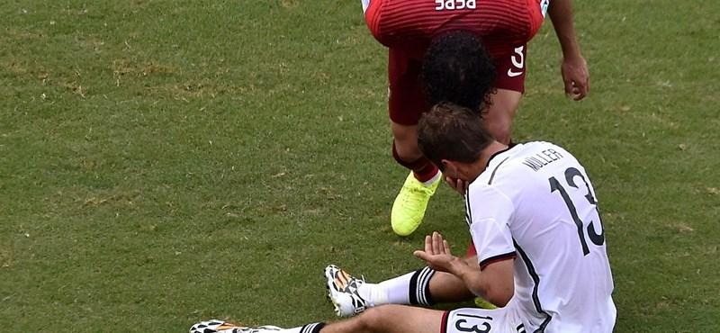 Pepe három meccsre kifejelte magát a vébéről?