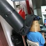 Dohányzó szobába került a kollégista, de nem esett kétségbe