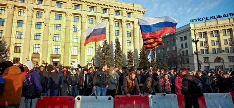 """Putyin Európának szegezte a """"gázfegyvert"""""""