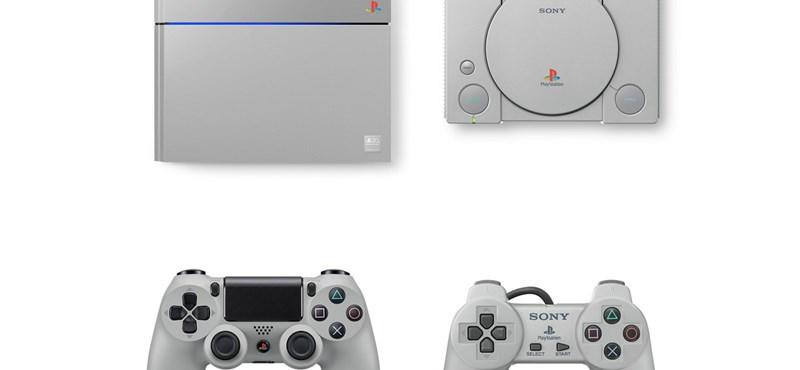 Minden játékos álma: ma 20 éves a PlayStation, évfordulós PS4-et ad ki a Sony