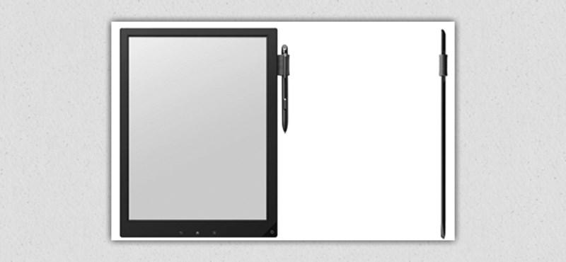 Jegyzetelés másképp: itt a Sony digitális papírja