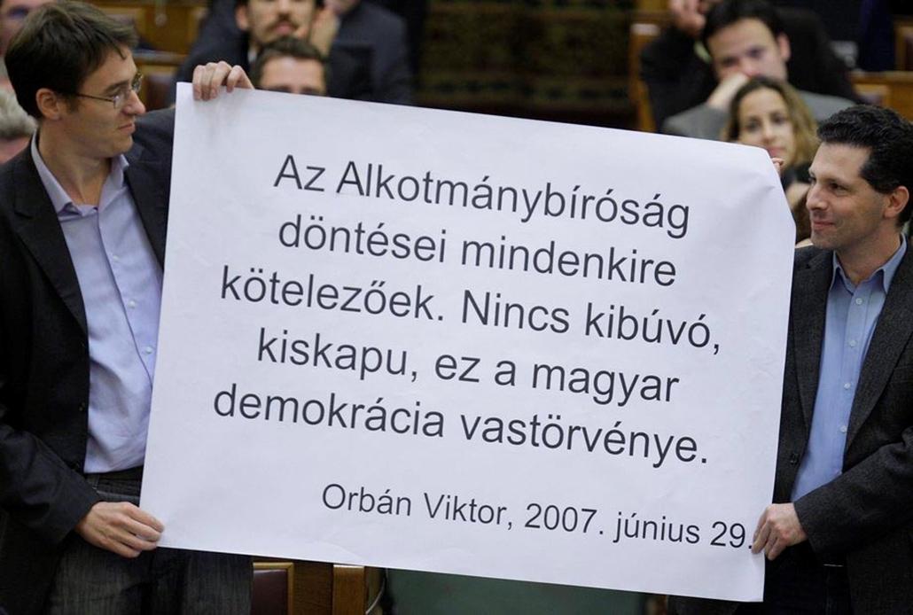 LMP, Orbán, Alkotmánybíróság