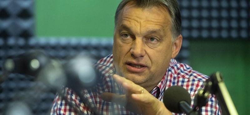 """Orbán Ukrajnáról: """"a háttérben figyeljük az eseményeket"""""""