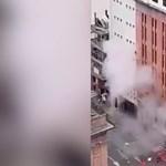 Bizonyítékok robbantak fel egy kolumbiai kormányzati negyedben - videó