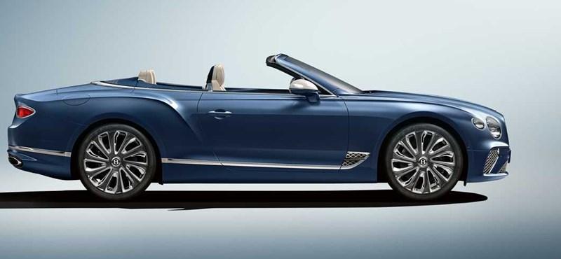 Luxus kimaxolva: íme a legújabb kabrió Bentley, ami Genfben debütált volna