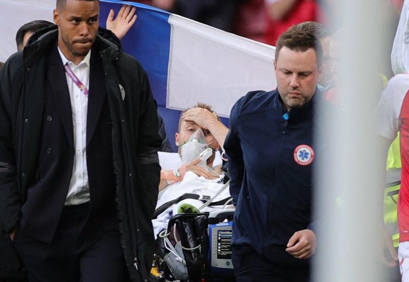 Sajtóhírek szerint Eriksen állapota stabil az újraélesztést követően