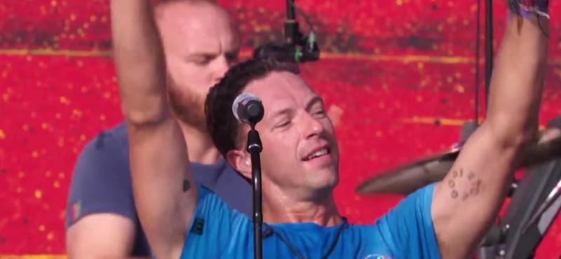Videó: Itt egy vadonatúj Coldplay-dal
