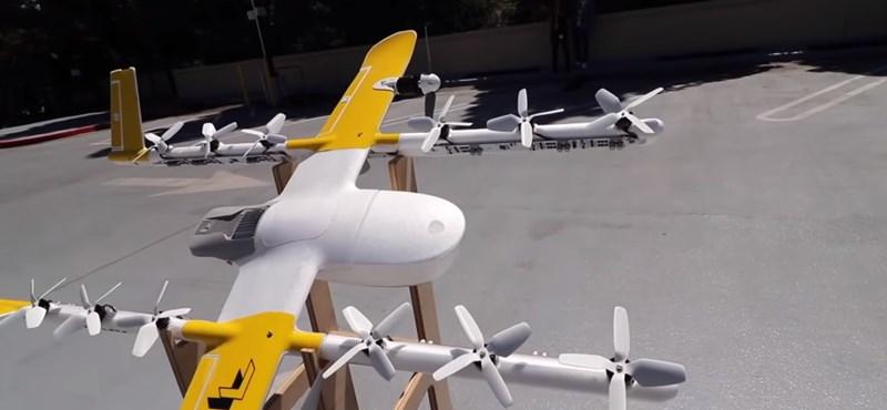 """Európában fogja tesztelni repülő """"postásait"""" a Google"""