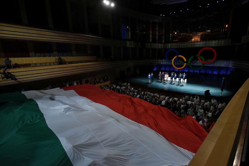 ji.16.07.07. - Rio 2016 - Az olimpiai csapat ünnepélyes fogadalomtétele