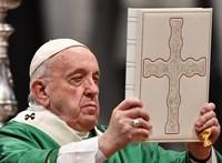 Ferenc pápa: Hősök dolgoznak a kórházakban