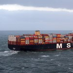 Mérgező anyagot is tartalmazó konténerek estek az Északi-tengerbe egy uszályról